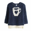Ropa de niños y bebés - jersey fluffy taza de amor