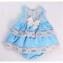 Ropa de niños y bebés - vestido canastilla braguit