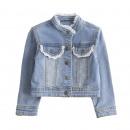 ingrosso Ingrosso Abbigliamento & Accessori: giacca di jeans  con detelle - Abbigliamento per ba