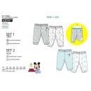 Ropa de niños y bebés - pack 2 pantalones 100% alg