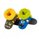 Children and baby clothes - kids shoes anim