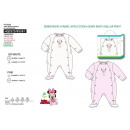 Children and baby clothes - pajamas type 65% alg