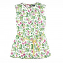 Children and baby clothes - flamencos girl dress