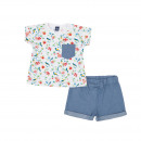 Children and baby clothes - paradise baby girl set