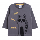 Children and baby clothes - raccoon t-shirt