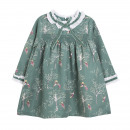 Children and baby clothes - printed dress girls ju