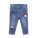 Children and baby clothes - cowboy with denim patc