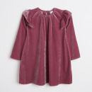 Children and baby clothes - velvet dress