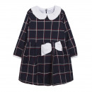 Children and babies clothing - large plaid dress