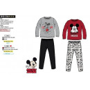 Ropa de niños y bebés - pijama largo jersey mickey