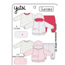 Children and baby clothes - 3pie plush hoodie