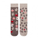 Children and baby clothes - coffe printed socks