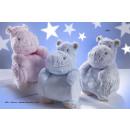 Großhandel Babyspielzeug: Kinder- und Babykleidung - Decke + Puppe Ratita