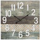 grossiste Maison et habitat:Horloge murale AMS 9570