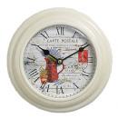 Antique Horloge murale ACCUEIL Carte Postale 12566