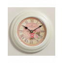 wholesale Home & Living: Antique Wall Clock  HOME 12566 Senteurs De Rose