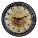 grossiste Maison et habitat: Antique Horloge  murale ACCUEIL 18883 Cappuccino