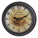 mayorista Casa y decoración: Antiguo reloj de  pared HOME 21154 Cappuccino