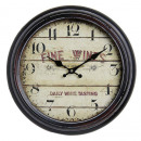 Antique Wall Clock HOME 21154 Fine Wines