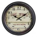 mayorista Casa y decoración: Antiguo reloj de  pared HOME 21154 Fine Wines