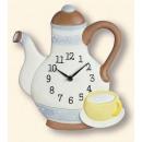 groothandel Home & Living: Wall Clock Terra Studio 6105