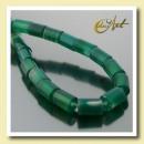 Großhandel Beads & Charms: Grüne Achat  Gewindegröße 8,5 mm Zylinder