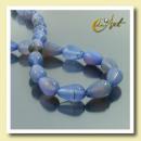 ingrosso Beads & Charms: Discussione pera  tagliata agata blu 13X8mm