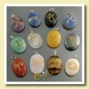 ingrosso Gioielli & Orologi: pietre Oroscopo (ciondoli con inciso