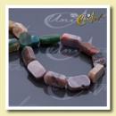 ingrosso Beads & Charms: India rettangolare Agata striscia