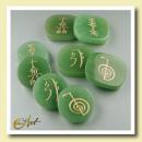 Kit Green Quartz Reiki symbols
