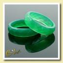 ingrosso Anelli: Sfaccettato anello agata verde