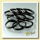 Onyx ring - fine faceted - 1 Pack with 10