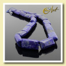 ingrosso Beads & Charms: lapislazzuli, perle rettangolari