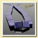 square lapis lazuli beads