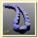 groothandel Sieraden & horloges: Lapis lazuli -  ovale kralen gedraaid