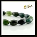 groothandel Beads & Charms: Moss agaat kralen olijf formaat
