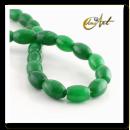groothandel Beads & Charms: Olijf groene stroken Jade carving