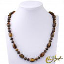 grossiste Bijoux & Montres: Tiger Eye Collier - Barril