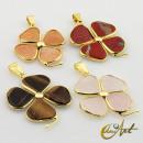 ingrosso Gioielli & Orologi:Ciondolo in oro Clover