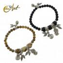grossiste Bijoux & Montres: onyx bracelet  d'argent ou jaspe Paisina