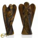 grossiste Figurines & Sclulptures: Ange Tiger Eye Lighting, représenté