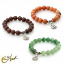 Großhandel Armbänder: Happy Buddha Armband - Aventurin
