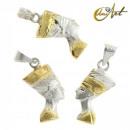 groothandel Sieraden & horloges: Nefertiti hanger  in Sterling Zilver - Large