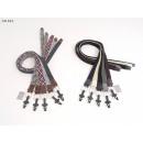 wholesale Belts: Men Stretchbelt uni 105-115 cm