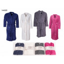 wholesale Home & Living: Women / Men  Microfiber  bathrobe, sizes S ...