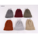 Ladies Knitted Hat Chenille, uni