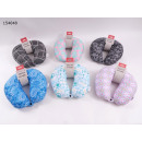wholesale Travel Accessories: Neck Pillow 32 x 31 cm printed Ökotex