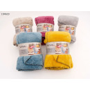 Blanket Teddy Fleece uni 150 x 200 cm