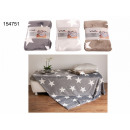 wholesale Cushions & Blankets: Ceiling stars 150 x 200 cm