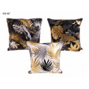 Decorative pillow palm leaves 45 x 45 cm